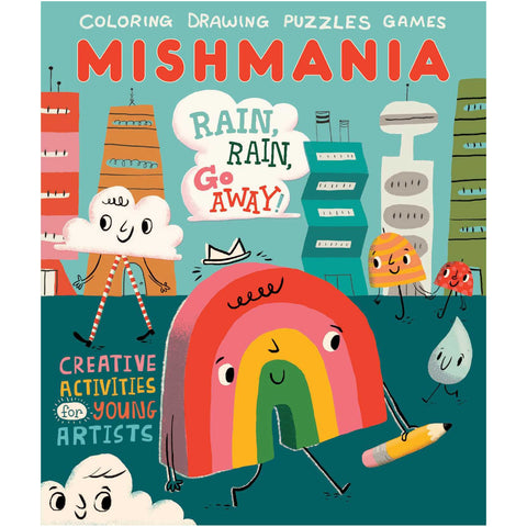 Mishmania Activity Books: Rain Rain Go Away