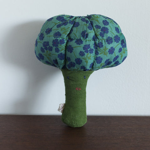Lady Broccoli Rattle