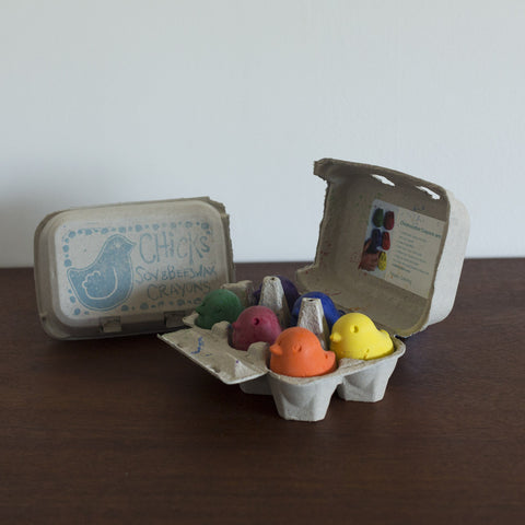 Soy and Beeswax Crayon Chick Set