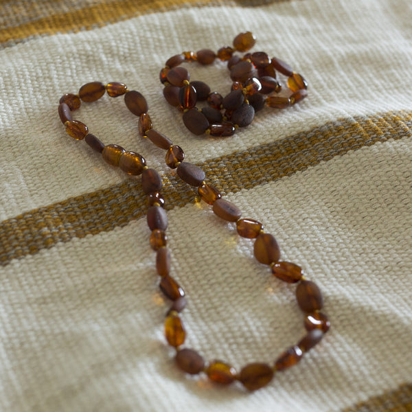 Natural Amber Teething Necklace