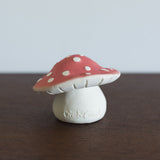 Sprout the Mushroom Rubber Toy