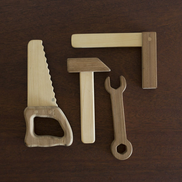 Wooden Toy Tool Set