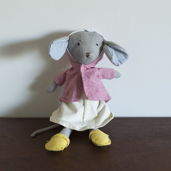 Catalina Mouse in Clover Pink Jacket
