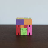 Small Cubebot Rainbow