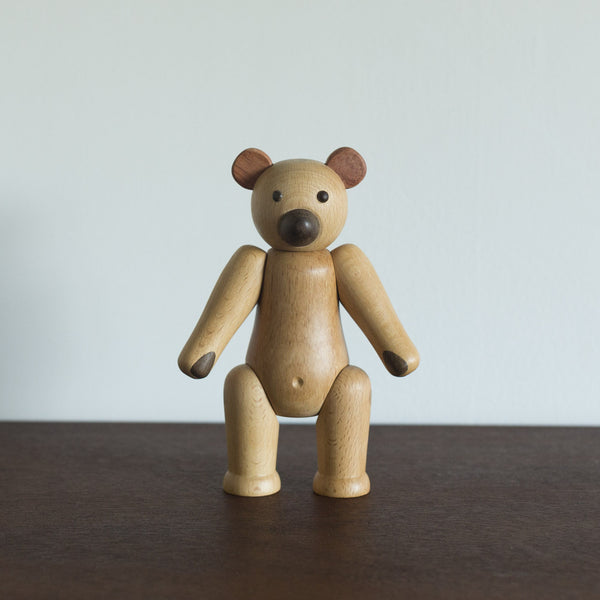 Wooden Teddy Bear Toy