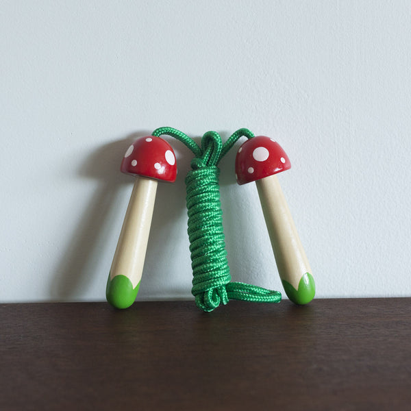 Enchanted Mushrooms Skipping Rope