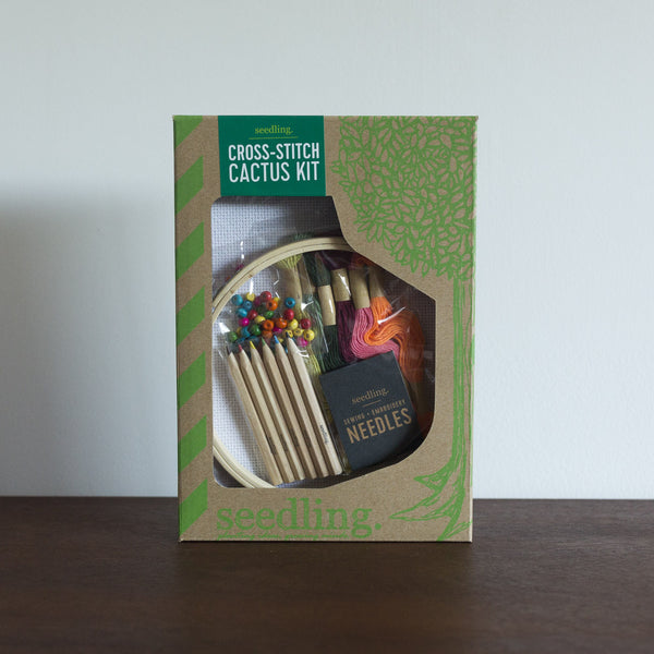 Cross Stitch Cactus Kit