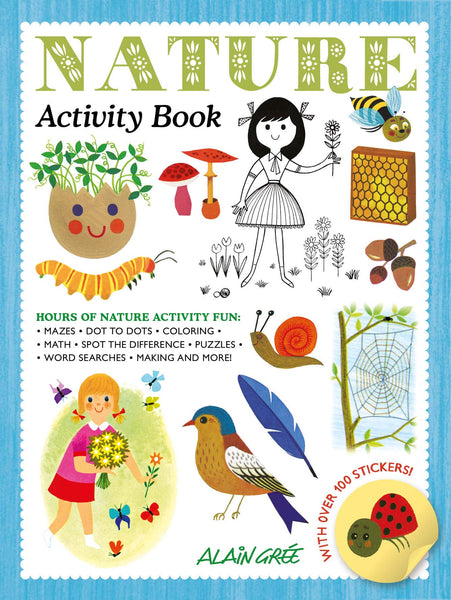 Alain Gree Nature Activity Book