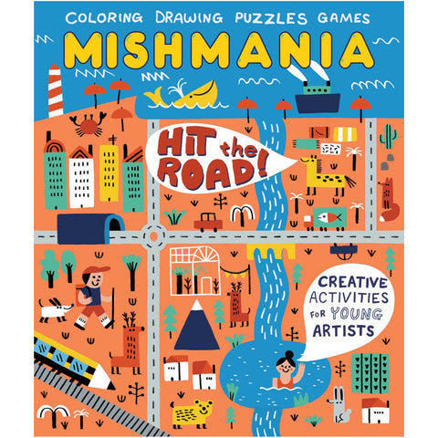 Mishmania Activity Books: Hit The Road