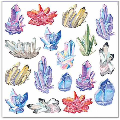 Crystal Geode Stickers