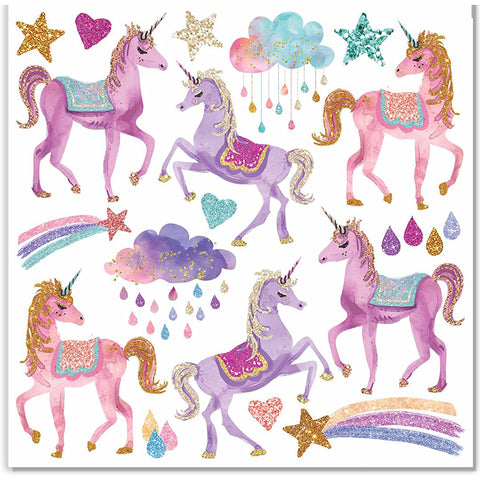 Pink Unicorn Stickers