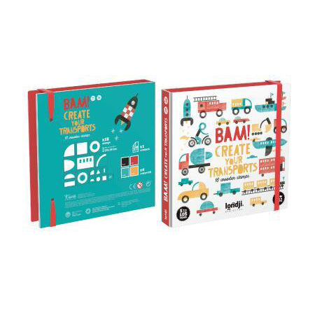 Bam! Transport Stamp Set