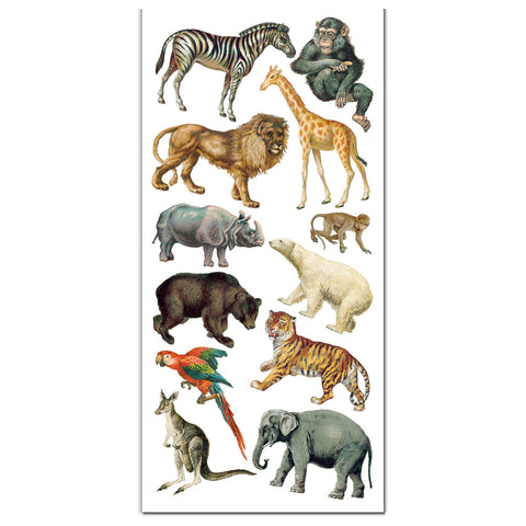 Safari Zoo Stickers