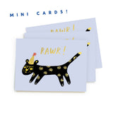 Leopard Greeting Hangtag Pack
