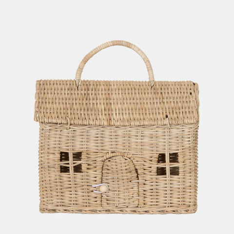 Casa Clutch Bag- Straw