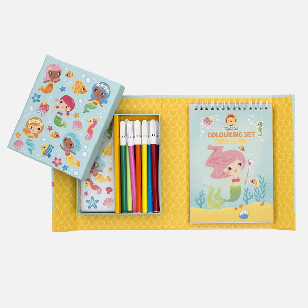 Activity Kit: Mermaid Coloring Set
