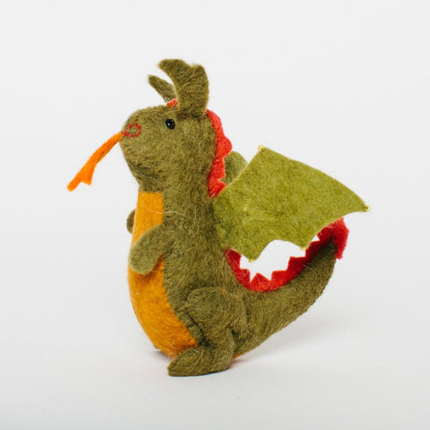 Wool Felt: Fairy Tale Dragon Toy