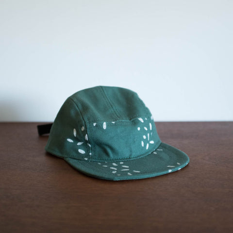 Kids Green Printed Hat by Pulp
