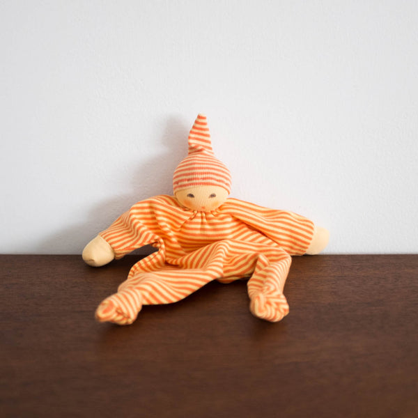 Nanchen Knotted Soothing Doll- Orange