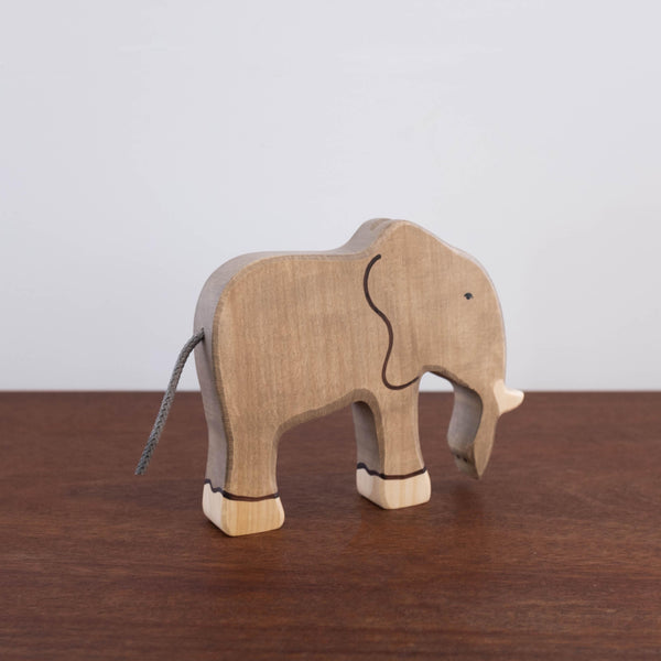 Holztiger Elephant- Trunk Down