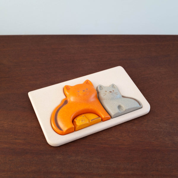 Cat Family Puzzle Toy