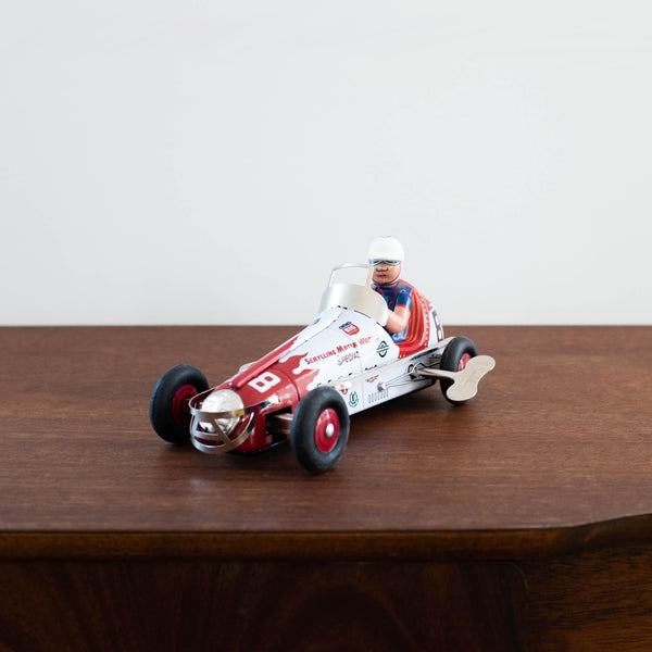 Retro Tin Sprint Racer Toy