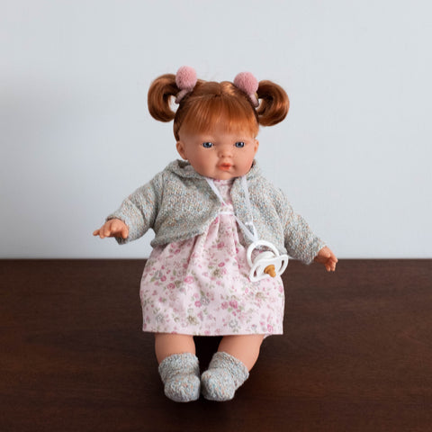Clare Crying Baby Doll- 13""