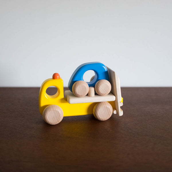 Wooden Small Lorry Truck and Car Set