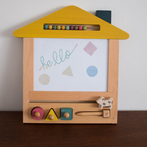 Oekaki Dog House- Magical Drawing Board with Tote Bag