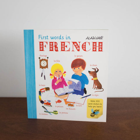First Words in French Activity/ Sticker Book
