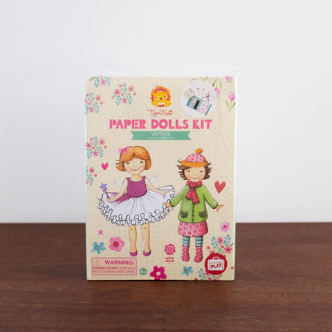 Activity Kit: Vintage Paper Dolls