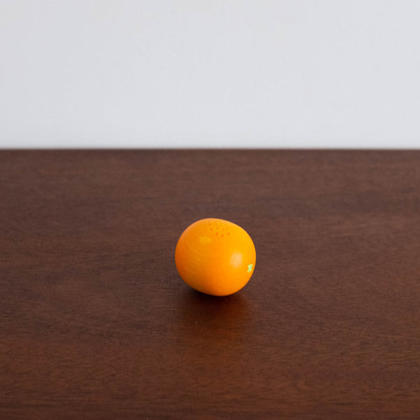 Wooden Orange Toy