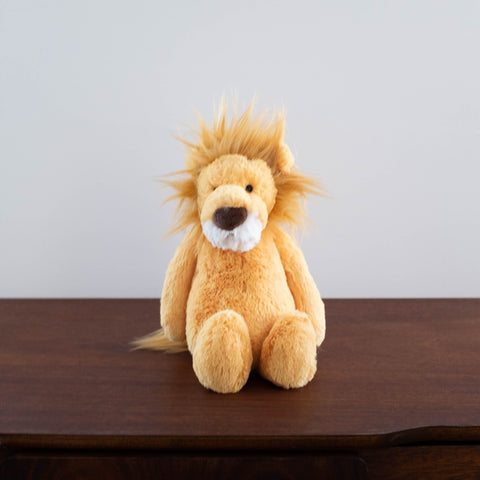 Bashful Lion Doll- Medium