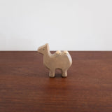 Japanese Wooden Animals: Camel