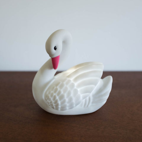 Swan Mini Light- Grey Kiss