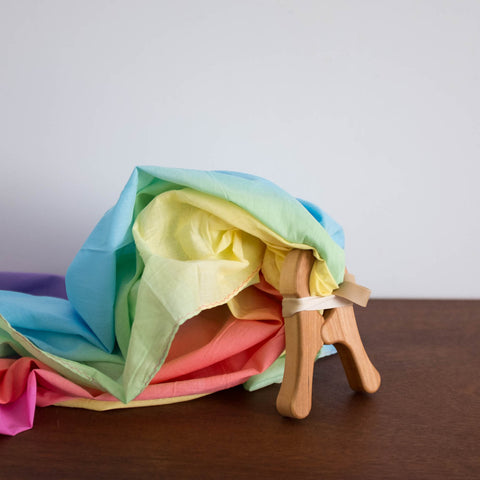 Rainbow Cotton Playcloths