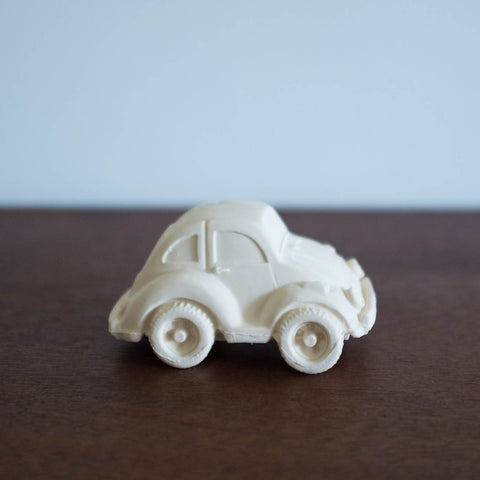 Carlito White Rubber Car Toy