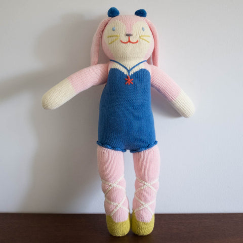 Mirabelle the Bunny Regular Knit Doll