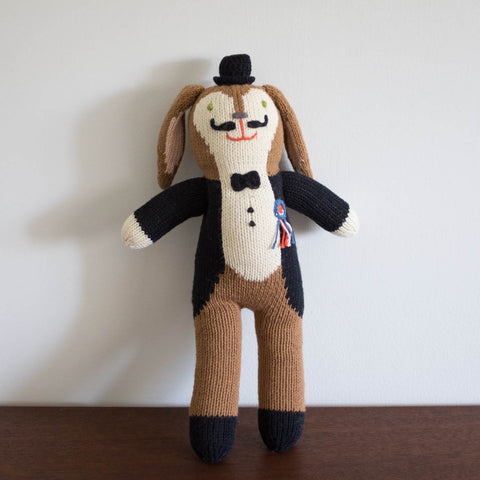 Balthazar the Bunny Mini Knit Doll