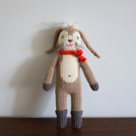 Pierre the Bunny Rattle Doll