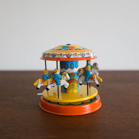 Tin Carousel Toy