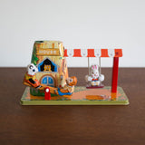 Animal Playland Mechanical Tin Toy
