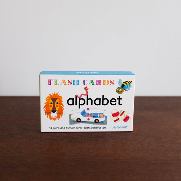Alphabet Flash Cards by Alain Gree