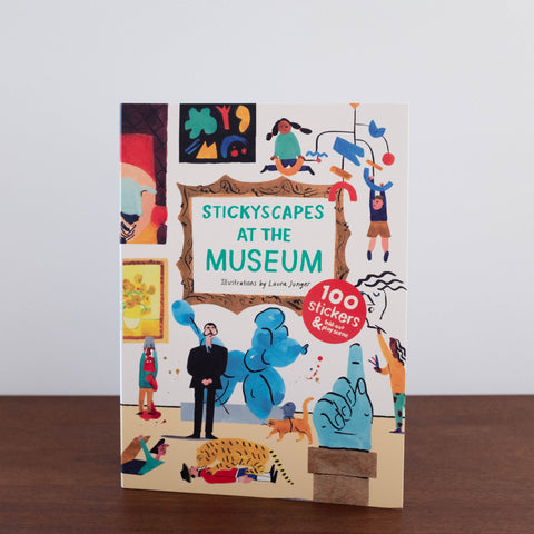 Museum Stickyscapes Book