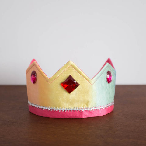 Silk Crown- Rainbow Reversible