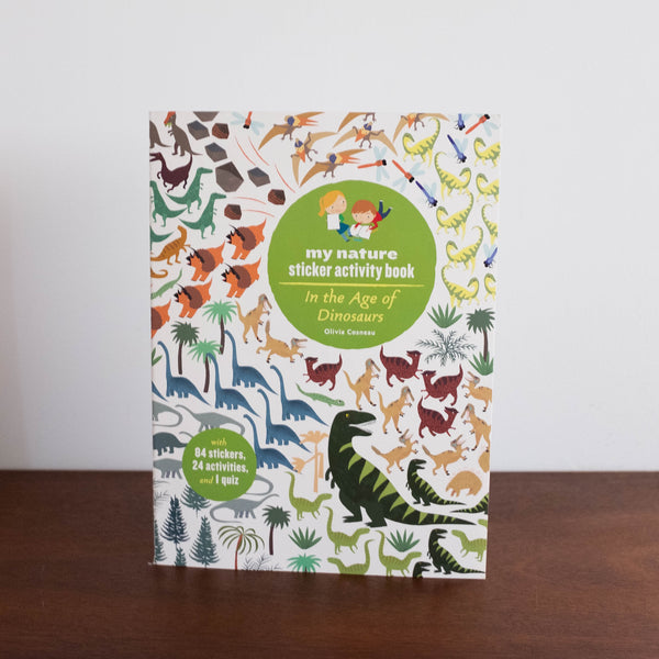 Sticker Activity Book: In the Age of Dinosaurs