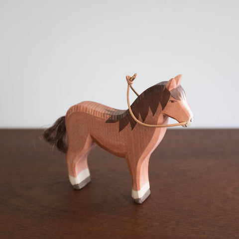 Ostheimer Brown Horse Toy- No Reins