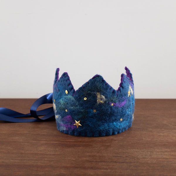Hand Felted Wool Crowns