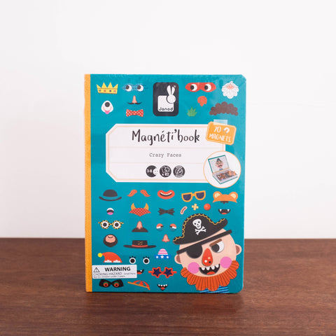 Crazy Faces Magnetic Game Set