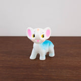 White and Blue Elephant Cutie Doll